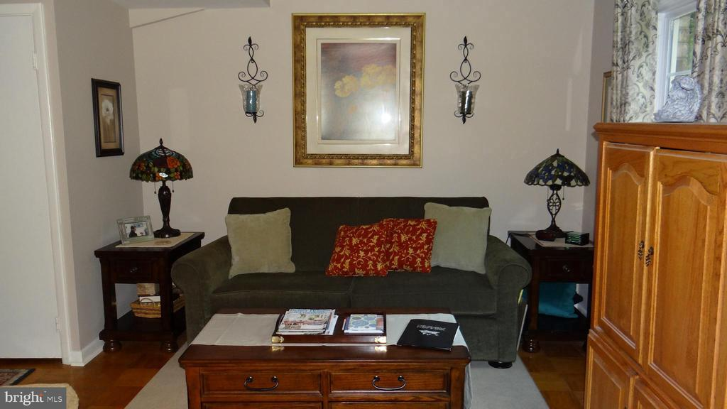hardwood floors in familyroom - 409 GREENBRIER CT #409, FREDERICKSBURG