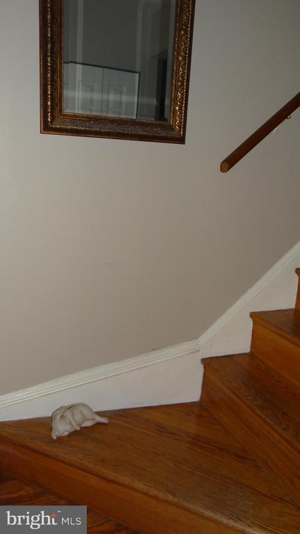 hardwood stairs - 409 GREENBRIER CT #409, FREDERICKSBURG