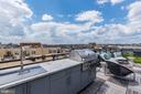 equipped with a built-in outdoor grilling kitchen - 1427 RHODE ISLAND AVE NW #PH3, WASHINGTON