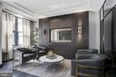 ... and adjacent and chic reception lounge - 1427 RHODE ISLAND AVE NW #PH3, WASHINGTON