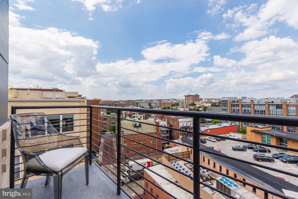 with access to a balcony with north exposures - 1427 RHODE ISLAND AVE NW #PH3, WASHINGTON
