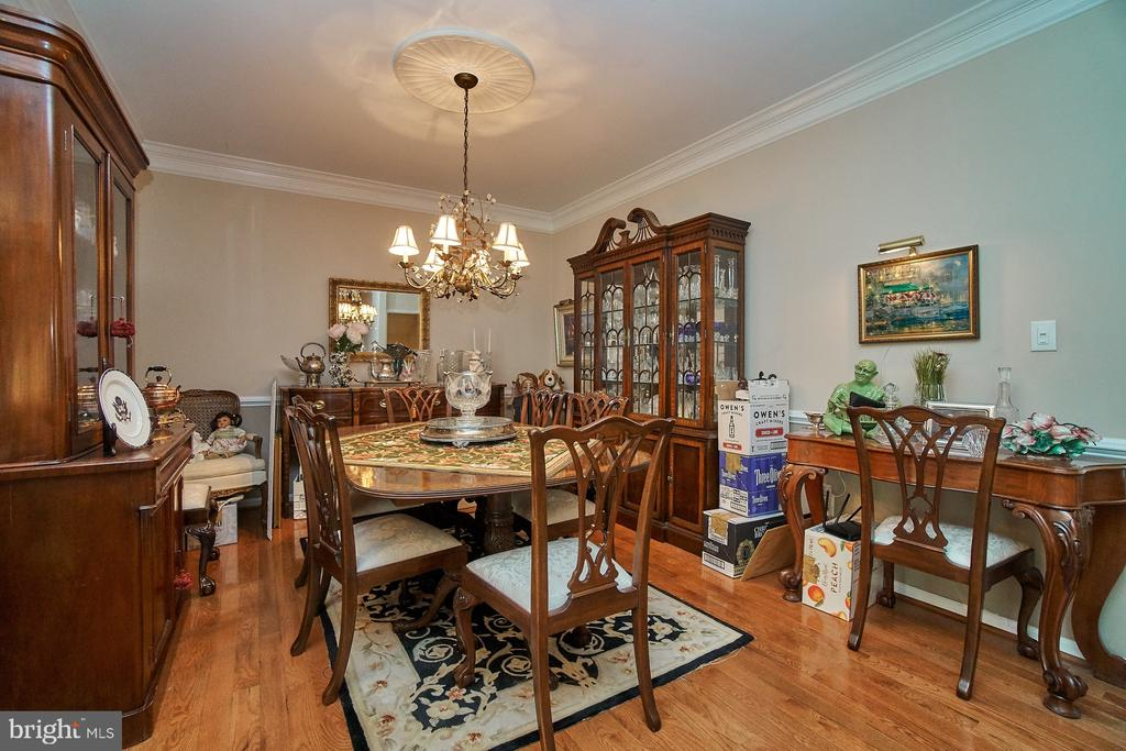 Formal Dining Room - 5642 WHEELWRIGHT WAY, HAYMARKET