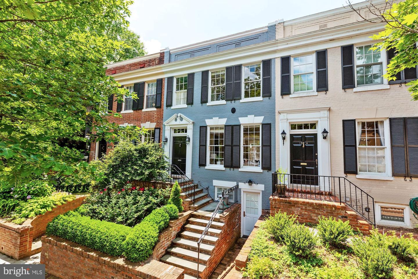 Single Family for Sale at 1652 29th St NW Washington, District Of Columbia 20007 United States