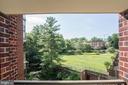 Garden view Balcony - 2100 LEE HWY #314, ARLINGTON