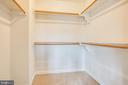 Master Closet - 118 RINGGOLD RD, FREDERICKSBURG