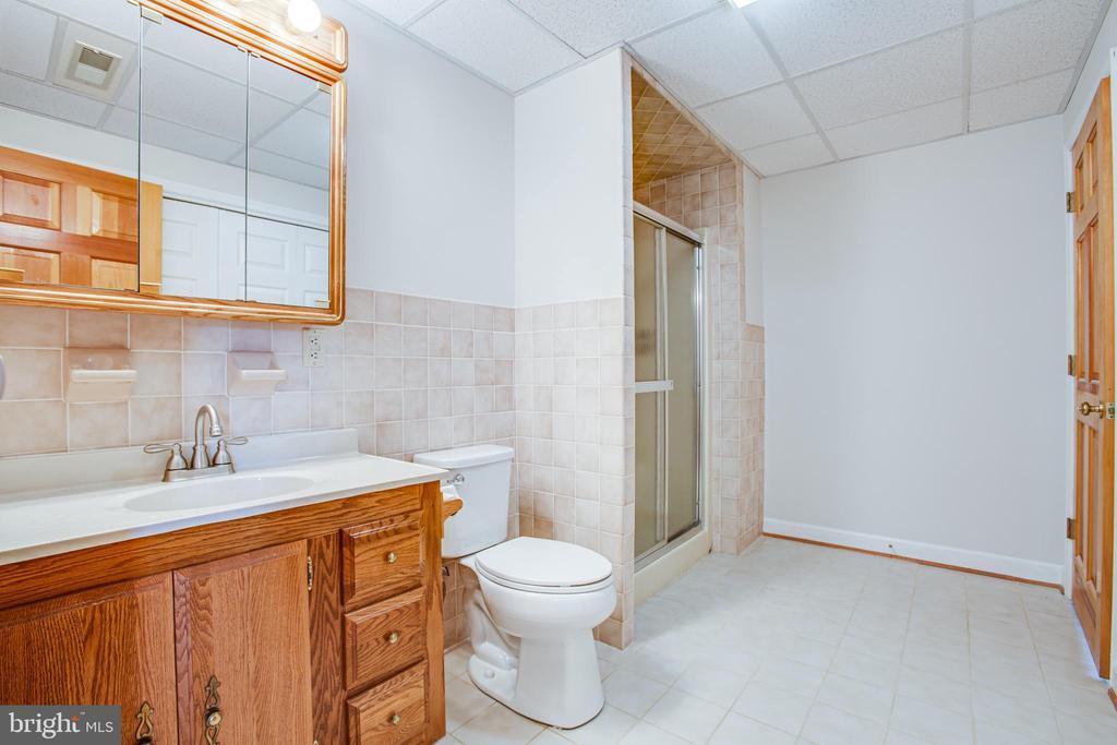 Basement Full Bath - 118 RINGGOLD RD, FREDERICKSBURG