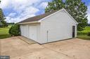 Detached Garage - 118 RINGGOLD RD, FREDERICKSBURG