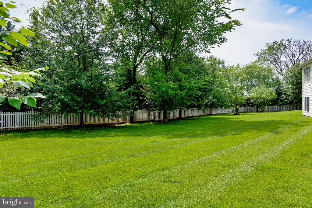 Property goes beyond fence line! - 43872 ASHLAWN CT, ASHBURN