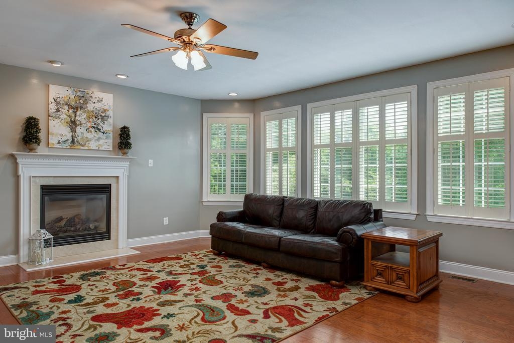 Wall of windows with plantation shutters! - 43872 ASHLAWN CT, ASHBURN