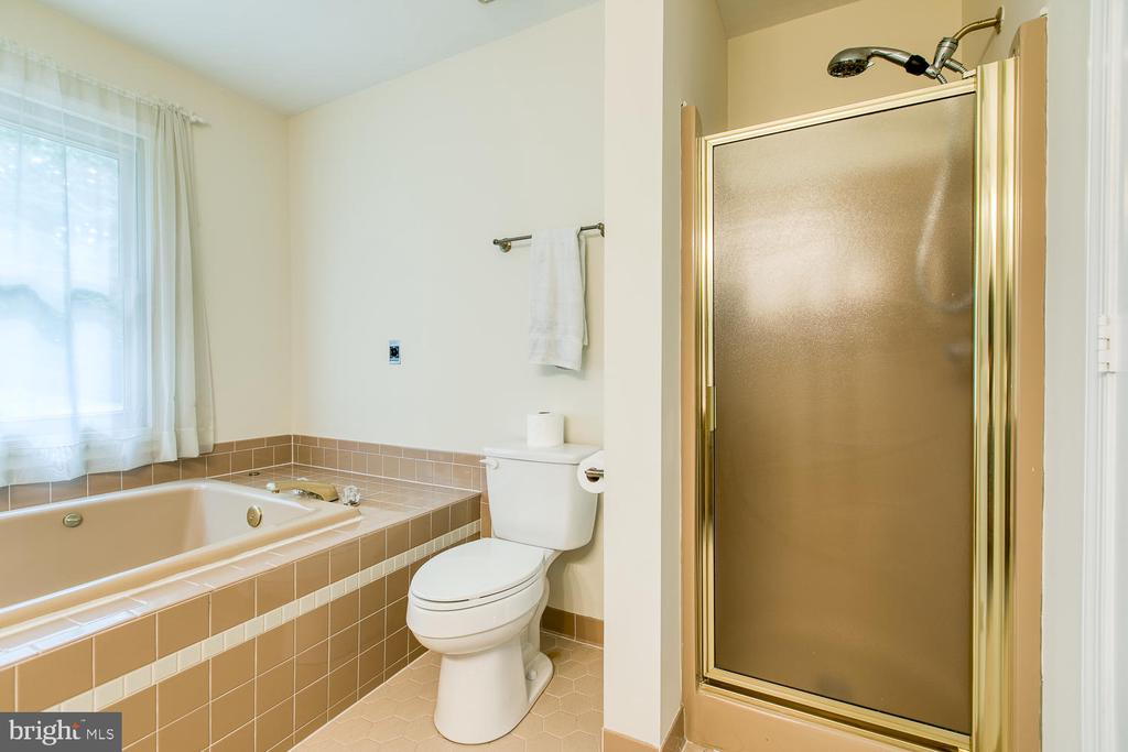 Soaker Tub with Separate Shower - 2316 HARPOON DR, STAFFORD