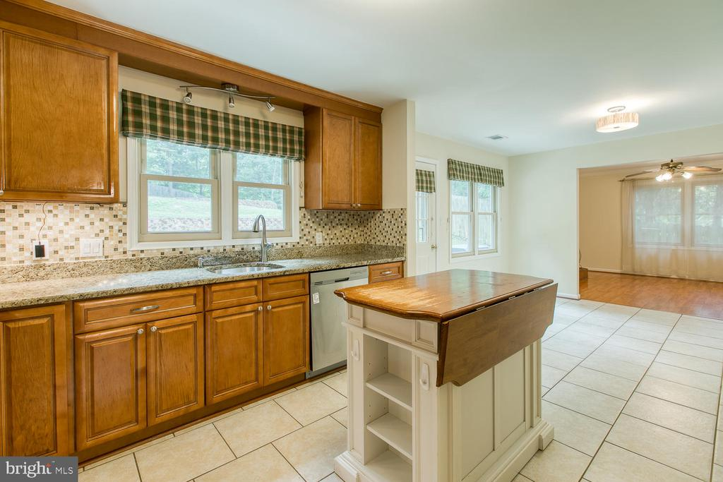 Granite Countertops, backsplash - 2316 HARPOON DR, STAFFORD