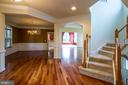 Cherry Hardwood Floors - 18926 ROSINGS WAY, TRIANGLE