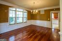 Separate Formal Dining Area - 18926 ROSINGS WAY, TRIANGLE