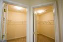 2 huge walk in closets - 18926 ROSINGS WAY, TRIANGLE