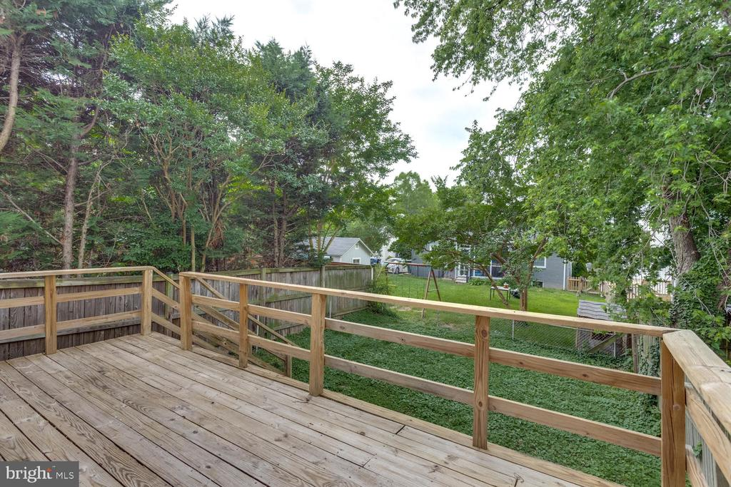 Deck for entertaining or just enjoying! - 11-1/2 E MYRTLE ST, ALEXANDRIA