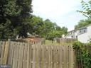 Fenced rear yard - 3814 PORT HOPE PT, TRIANGLE
