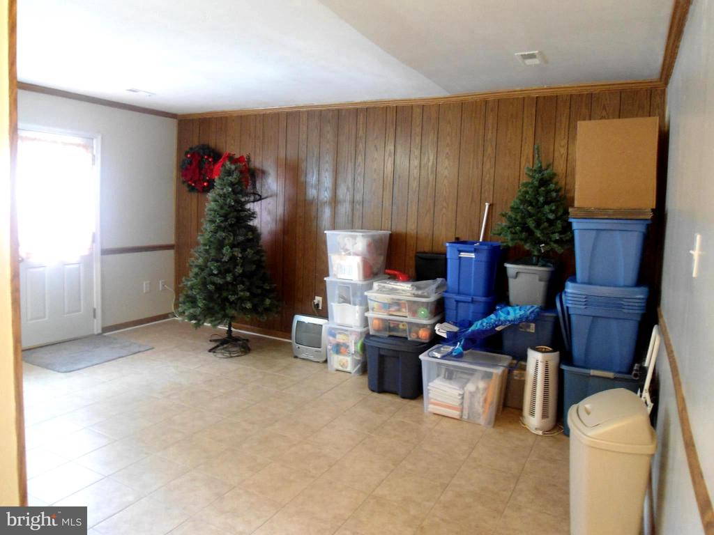 Family Room (Excuse the boxes) - 3814 PORT HOPE PT, TRIANGLE