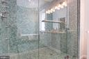 Master Shower with body sprays and 2 shower heads - 1218 EUCLID ST NW, WASHINGTON
