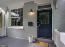 Lovely front porch-exterior freshly painted - 1218 EUCLID ST NW, WASHINGTON