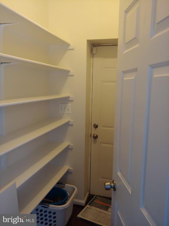Huge walk-in pantry - 824 N WAKEFIELD ST, ARLINGTON