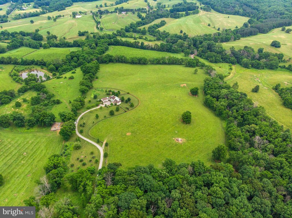 Aerial View of land - 24082 CHAMPE FORD RD, MIDDLEBURG