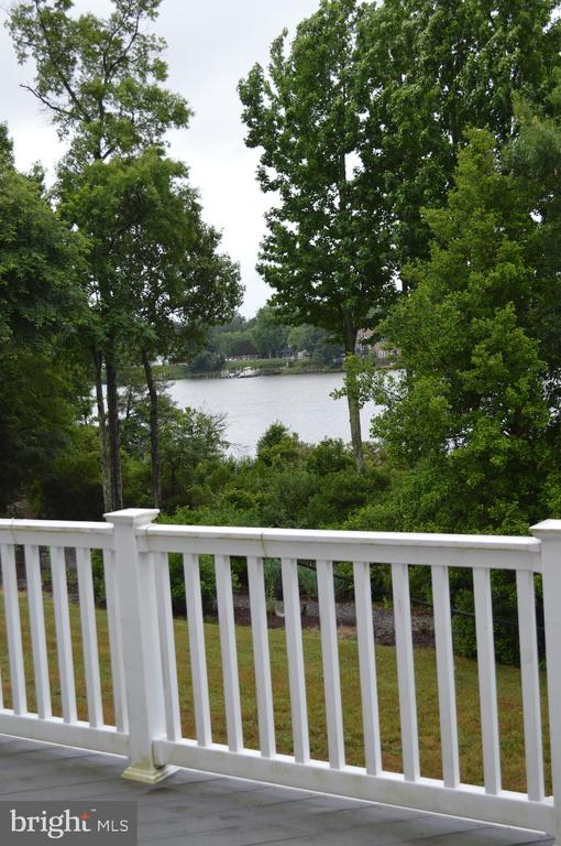 View from your balcony! - 210 MONROE POINT DR, COLONIAL BEACH