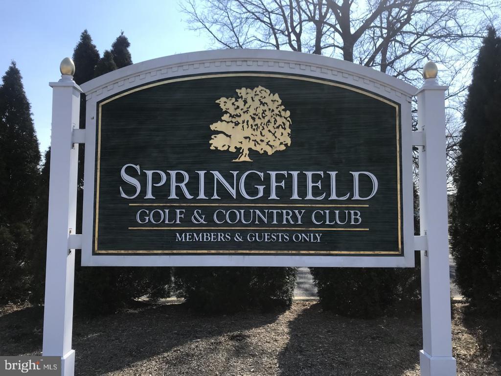 Golf anyone? - 8303 BOTSFORD CT, SPRINGFIELD