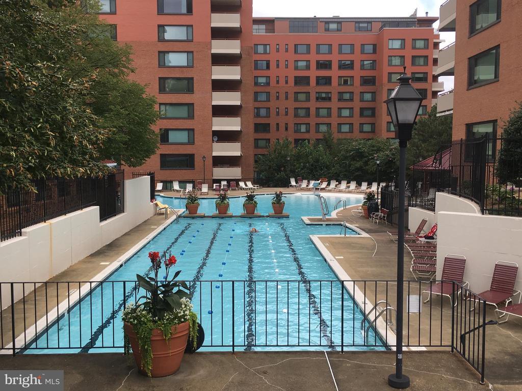 Outdoor Swimming Pool - 1121 ARLINGTON BLVD #808, ARLINGTON