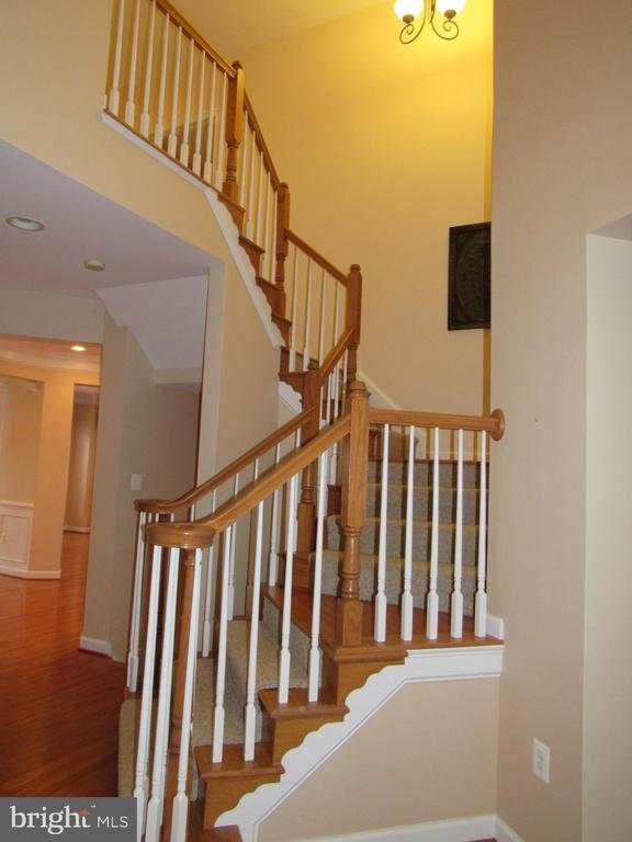 Main Stairs to Upper Level - 42677 EMPEROR DR, BRAMBLETON