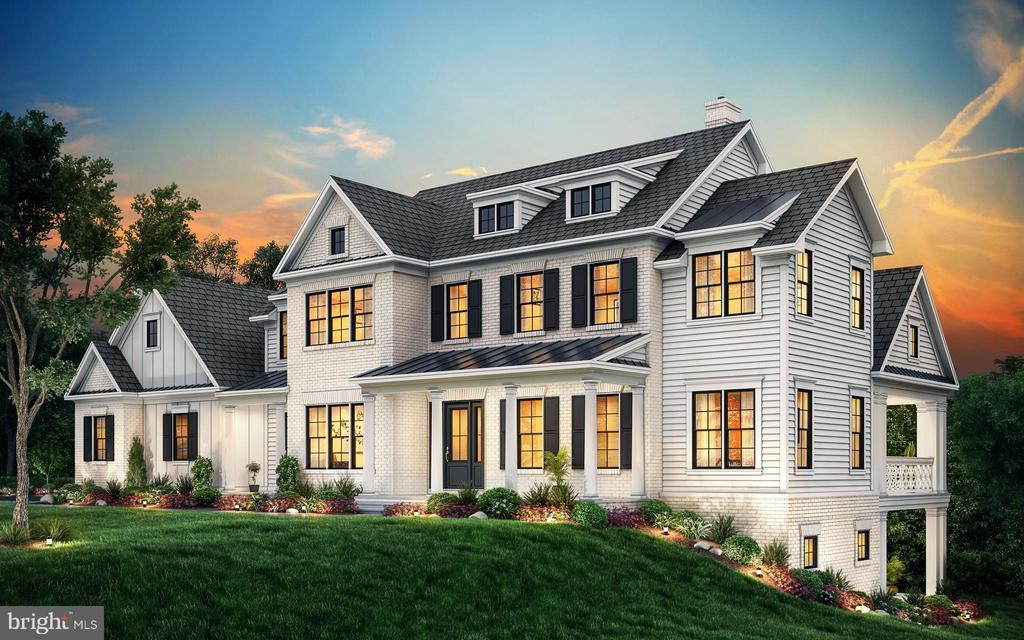 Rendering of Front Exterior - 40559 GROGAN CT, LEESBURG