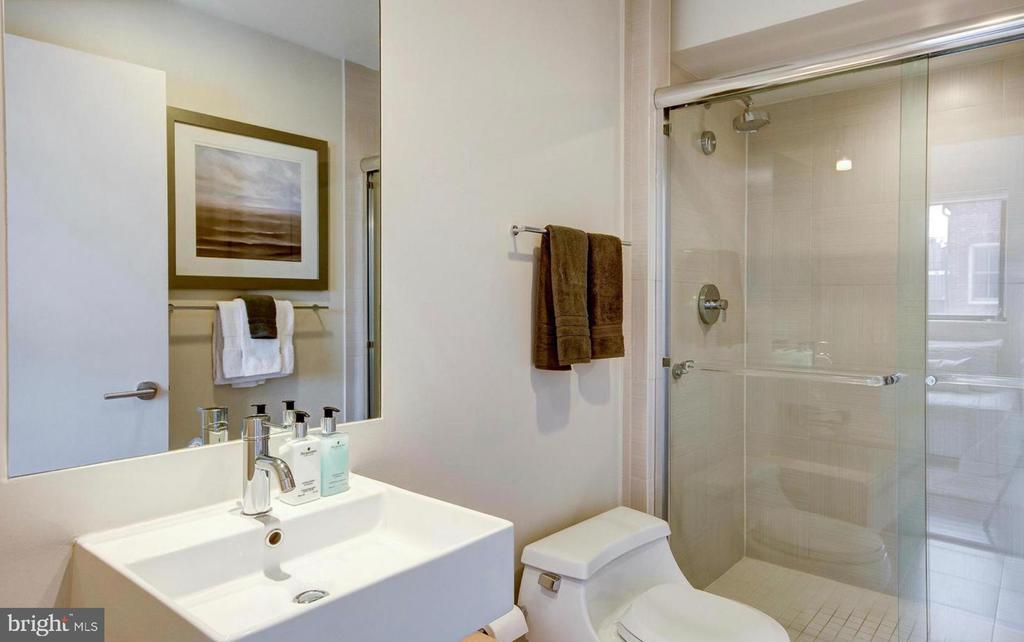 Second Bathroom - 1401 Q ST NW #305, WASHINGTON