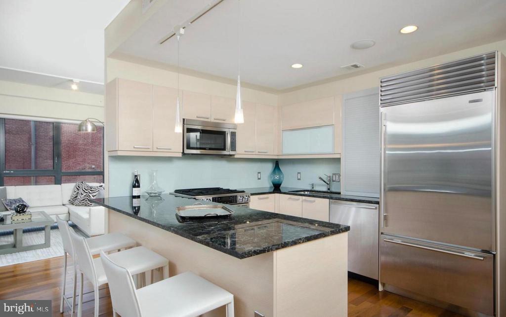 Kitchen - 1401 Q ST NW #305, WASHINGTON
