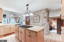 Large renovated kitchen! - 11583 LAKE NEWPORT RD, RESTON