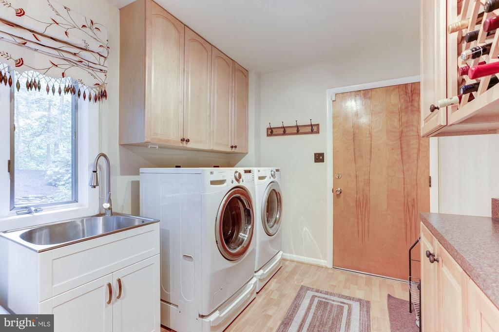 Washer and Dryer room on first floor - 11583 LAKE NEWPORT RD, RESTON