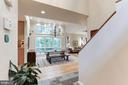 Living Room with tons of light - 11583 LAKE NEWPORT RD, RESTON