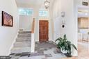 Light filled foyer - 11583 LAKE NEWPORT RD, RESTON