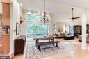 Dining Room with huge windows - 11583 LAKE NEWPORT RD, RESTON