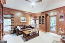 Warm wood-filled Library - 11583 LAKE NEWPORT RD, RESTON