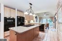 Kitchen island-perfect for the gourmet cook! - 11583 LAKE NEWPORT RD, RESTON