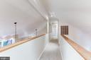 Upstairs hallway - 11583 LAKE NEWPORT RD, RESTON