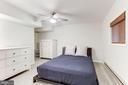 Fifth bedroom in lower level - 11583 LAKE NEWPORT RD, RESTON