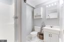 Lower Level full bathroom - 11583 LAKE NEWPORT RD, RESTON