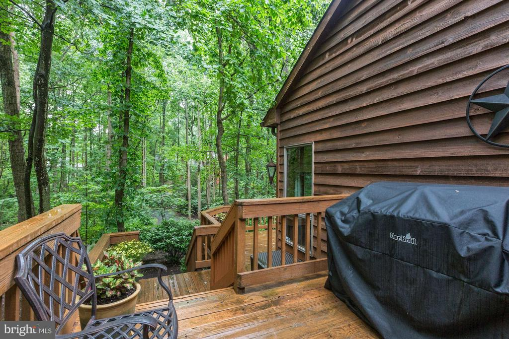 Expansive deck directly off kitchen - 11583 LAKE NEWPORT RD, RESTON