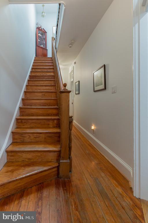 stairs to third level - 2108 O ST NW, WASHINGTON