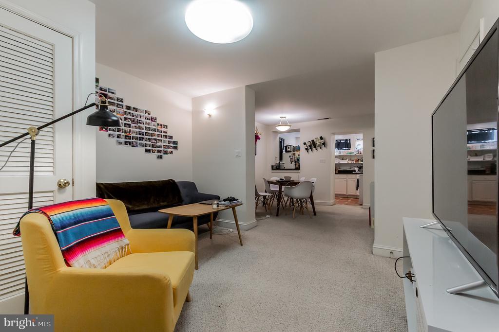 Basement apartment living room - 2108 O ST NW, WASHINGTON