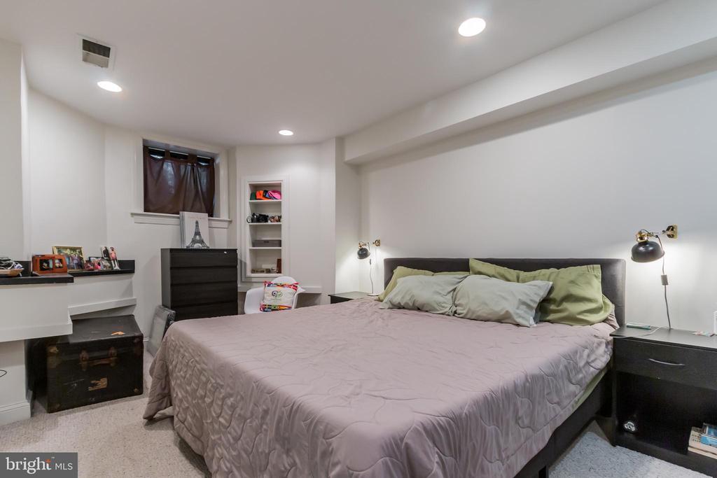 Basement level bedroom - 2108 O ST NW, WASHINGTON