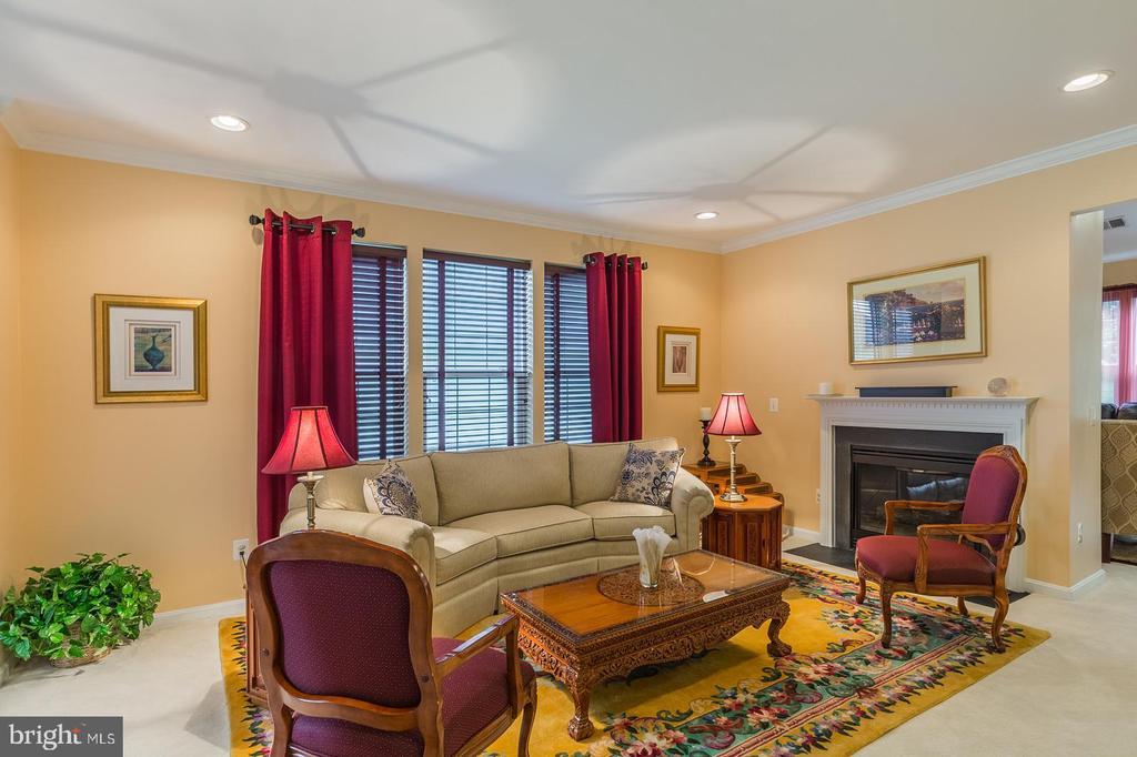Living Room - 3944 SOLSTICE LN, DUMFRIES