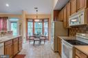 Kitchen with Table Space - 3944 SOLSTICE LN, DUMFRIES