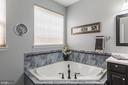 Master Bath Soaking Tub - 3944 SOLSTICE LN, DUMFRIES