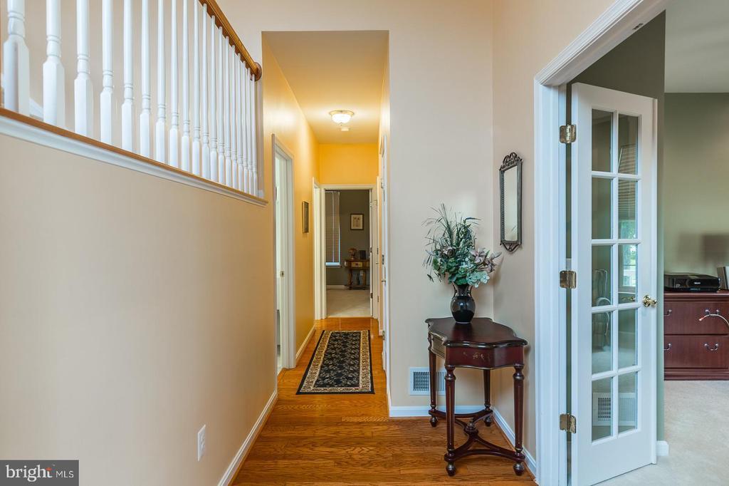 Hallway Towards Towards Fourth Bedroom - 3944 SOLSTICE LN, DUMFRIES